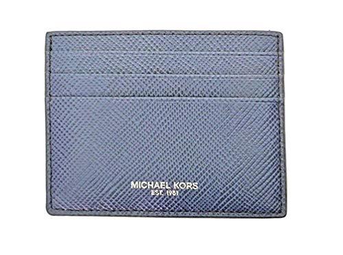 Michael Kors Men's Harrison Tall Credit Card Case Wallet (Navy)