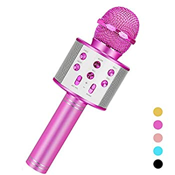 Niskite Toys for 3-16 Years Old Girls Gifts,Karaoke Microphone for Kids Age 4-12,Birthday Gifts for 5 6 7 8 9 10 11 Years Teens Girl Boys