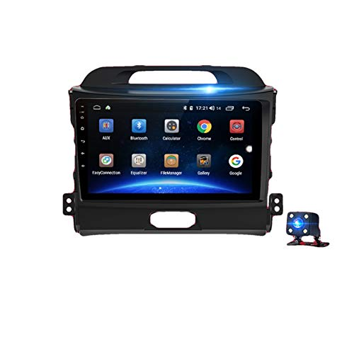 KCSAC 4G + 64G Carplay Android 10 DSP Fits for Kia Sportage 3 2010 2011 2013 2014 2014 2015 2016 Coche Radio Multimedia Video Player DVD (Color : 4G WIFI 4 64GB A)
