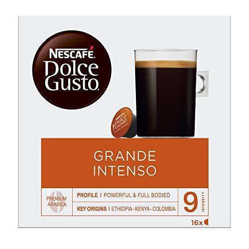 NESCAFÉ Dolce Gusto Cápsulas de Café Grande Intenso, Pack