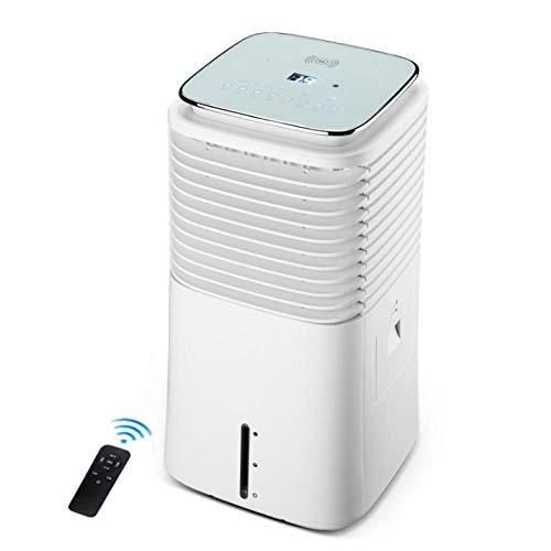 XBSLJ Aire Acondicionado y Calefactor de Aire Acondicionado portátil, Iones Negativos de Ventilador de aspa de Seguridad de Escritorio para mesita de Noche, Oficina y Sala de Estudio-B (frío Simple)