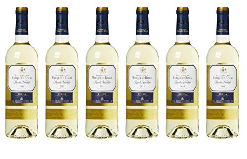 Marques De Riscal Verdejo - Vino Blanco x 6 botellas