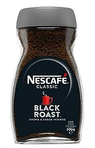 Nescafé Classic Black Roast - Café Soluble - 200 gr