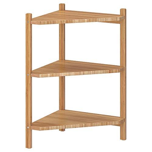 IKEA RÅGRUND wastafel/hoekplank bamboe