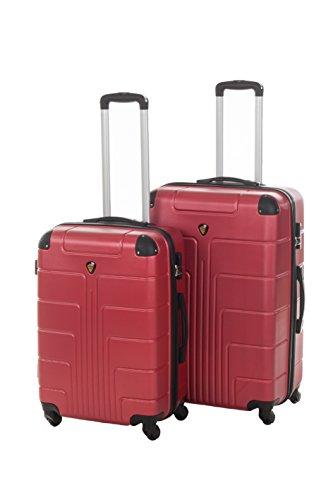 Harde kofferset New York 2-delig maat L + XL, 65 + 75 cm, 68 + 110 liter 10