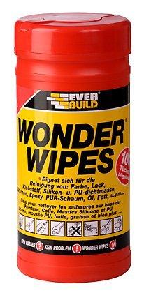 Ever Build Wonder Wipes 100 Feuchte Reinigunstücher Box