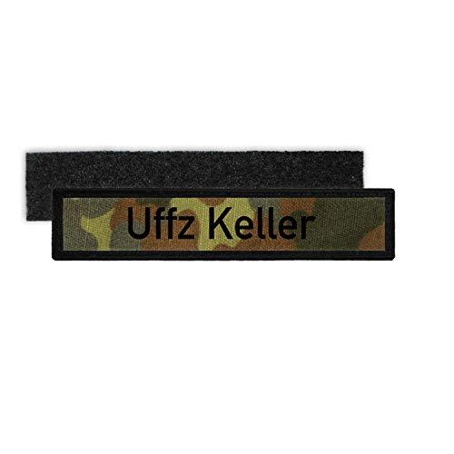 Copytec Patch Namens-Schild Uffz Keller Bundeswehr Unteroffizier Flecktarn #35024