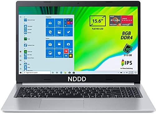 NDDD Nitro 5 AN515-55-55DW PC Gaming Portatile, Processore Intel Core i5-10300H, Ram 8 GB DDR4, 512GB PCIe NVMe SSD, Display 15.6  FHD IPS 144 Hz LED LCD, NVIDIA GeForce RTX 3060 6 GB, Windows 10 Home