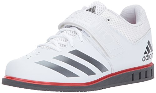 adidas Men's Shoes | Powerlift.3.1 Cross-Trainer, White/Night Metallic/Grey Five, (8 M US)