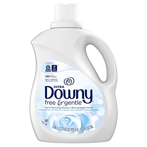 Downy Ultra Free & Gentle, Fabric Softener Liquid, Fabric Conditioner, 3.06 L (120 Loads) - Packaging May Vary