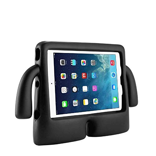 Funda de goma a prueba de golpes para iPad Mini 1 2 3 4 5 (espuma EVA) color negro