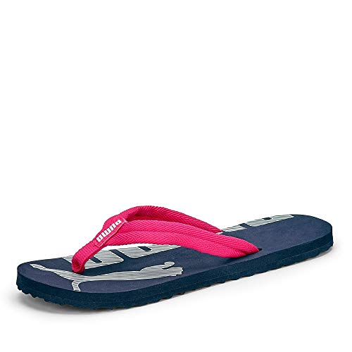 PUMA Epic Flip V2 Jr Zapatos de Playa y Piscina, Blau (Peacoat-Bright Rose), 39 EU