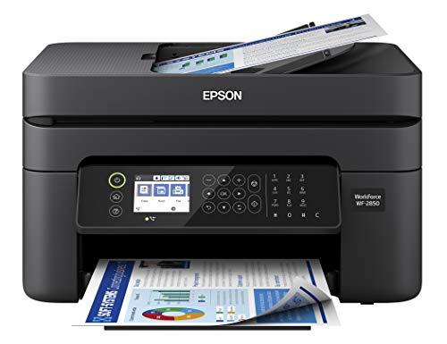 Epson Workforce WF-2850 - Impresora de inyección de tinta, multifunción, inalámbrica, a color