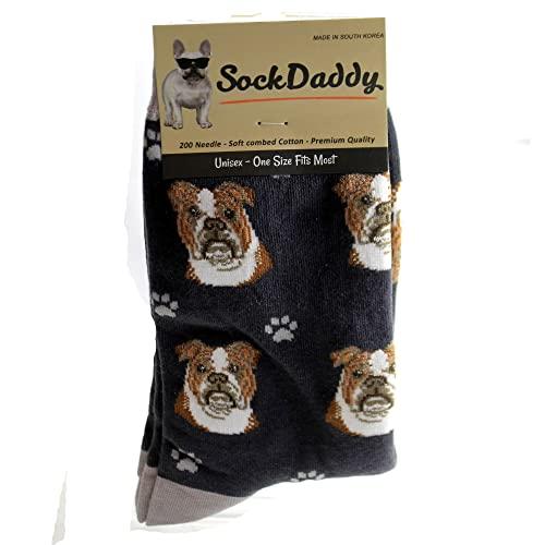 Bulldog Socks - Soft and Comfortable - Unisex