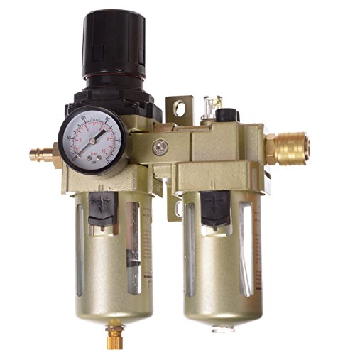 Perslucht onderhoudseenheid drukregelaar olie voor compressor slagmoersleutel 1/2