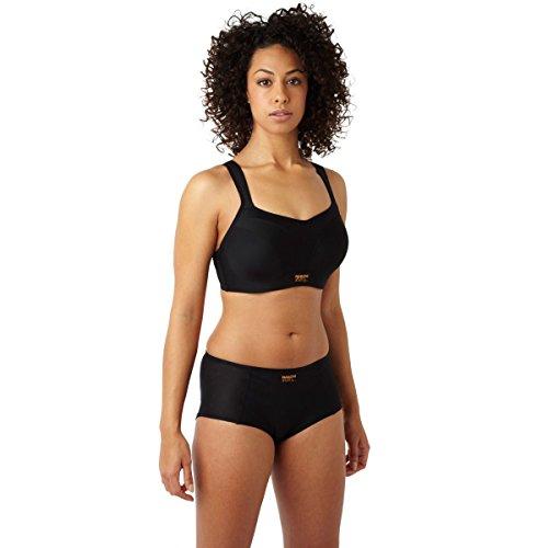 Panache womens Underwired Sports Bra , Black , 36DD
