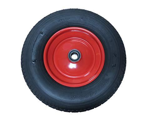 Luftbereiftes Rad mit Kugellager für WIDL X-Holzspalter, 415x110 mm, 25 mm Metallradkranz, 51 mm Radkranzbreite