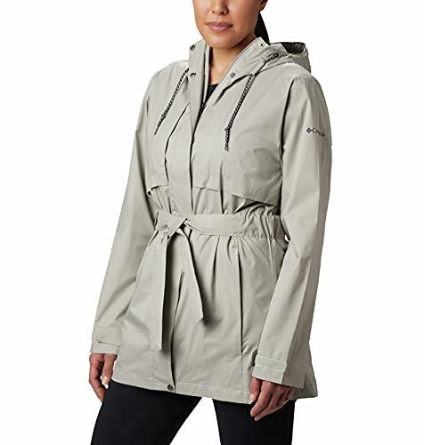 Columbia Women's Raincoat (WL0164_Flint Grey_M)