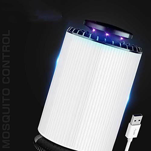 Bug Zapper Interna,Lampada Mosquito Killer,Nessuna Radiazione Cordless Alimentato da USB Elettrico Zanzara Insetto Lampada Killer Trappola Volante Casa