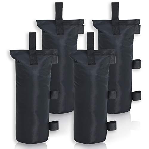 MasterCanopy 4 Set Gewicht Taschen mit Topfhaken für Pop Up Pavillon, Schwarz