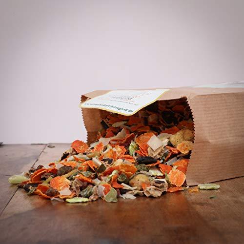 Hitzegrad Barf Premium-Obst/Gemüse Mix als Menü-Zusatz für Hunde - 1000g