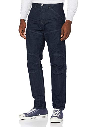 G-STAR RAW Mens 5620 Original Relaxed Tapered Jeans, 3D raw Denim B988-1241, 38W / 36L