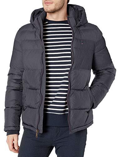 Tommy Hilfiger Herren Classic Hooded Puffer Jacke - Blau - XX-Large