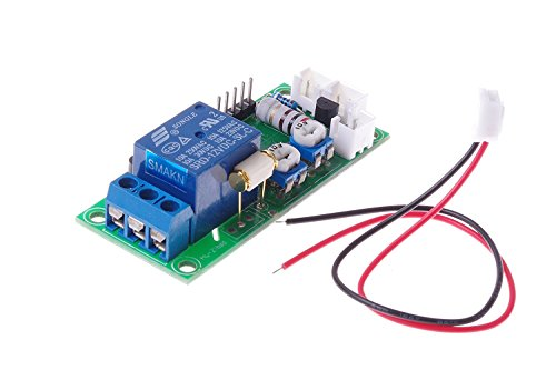 SMAKN Vibration sensor switch / Relay switch, adjustable sensitivity and delay