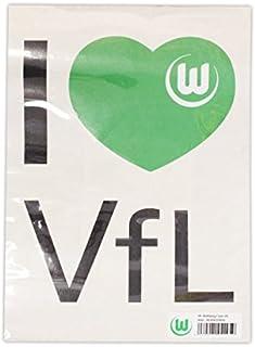 VfL Wolfsburg - Wandtattoo I Love VFL
