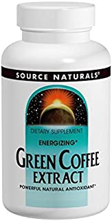 SOURCE NATURALS Energizing Green Coffee Extract 400 Mg Tablet, 120 Count