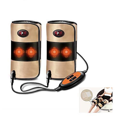 Knie Massageeinrichtungen, Wärme und Vibrationsfunktion Magnetmassage Relief Muskeln entspannen Schmerz, 3-Speed...