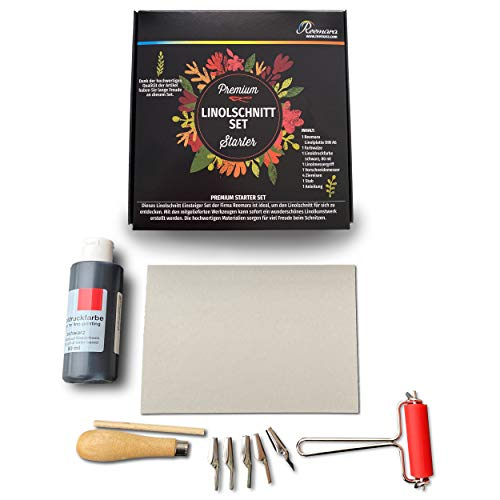 Reemara - Premium Linolschnitt-Set