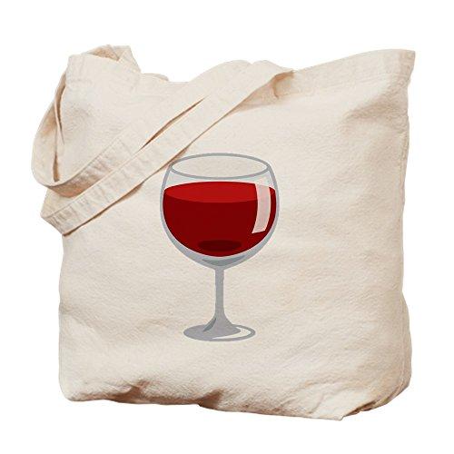CafePress Weinglas-Emoji-Tragetasche, canvas, khaki, M