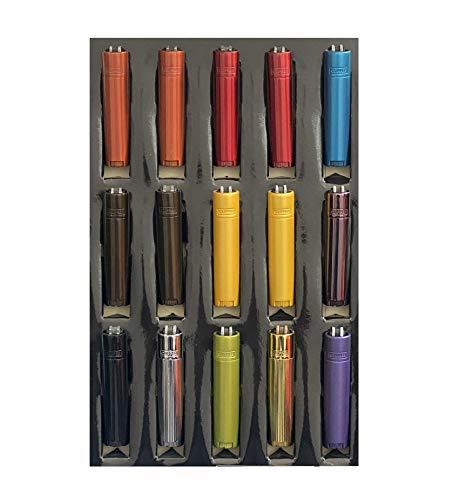 Clipper 1 Encendedor Mechero Clásico Largo Metal Color Surtido Elegible