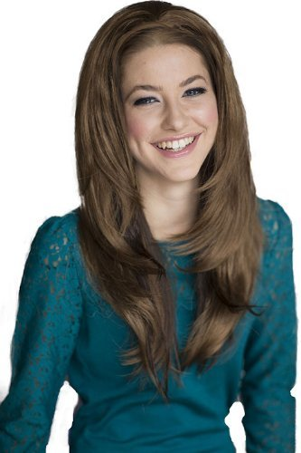 Annabelles Wigs Layered 3/4 Half Wig Hairpiece Light Brown Gently Extension: Lynette 250g