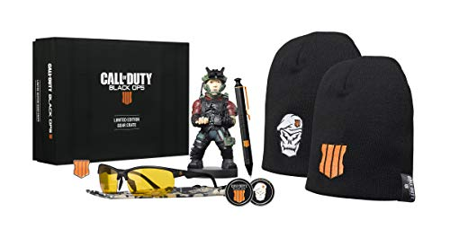 Big Box Boite Call Of Duty Black Ops 4 Figurine Cable Guy Lunette Gamer Bonnet Goodies