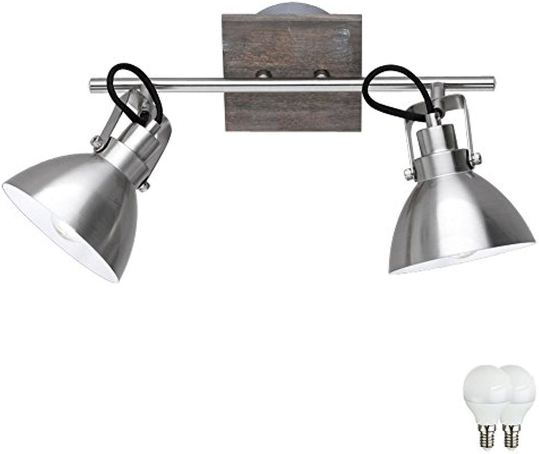 Design Decken Strahler Leuchte Beleuchtung Spot Lampe verstellbar im Set inklusive LED Leuchtmittel