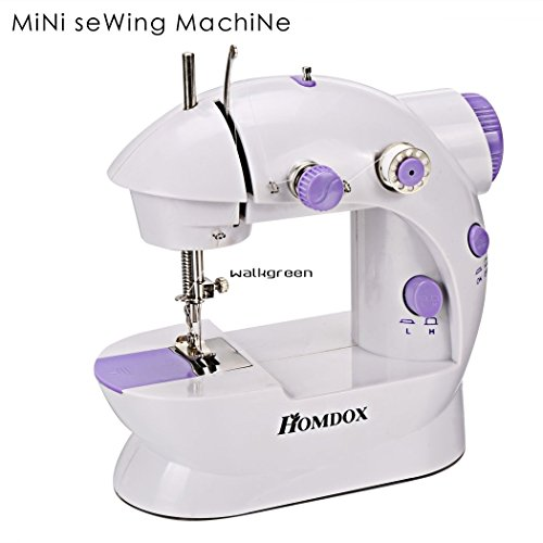 Armyshop Mini Portable Smart Electric Tailor Stitch 2-Speed Sewing Machine Home Travel US