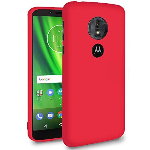 Ultra-Slim Hülle für Motorola Moto E5 Play (US Version) | in Rot | Cover Case