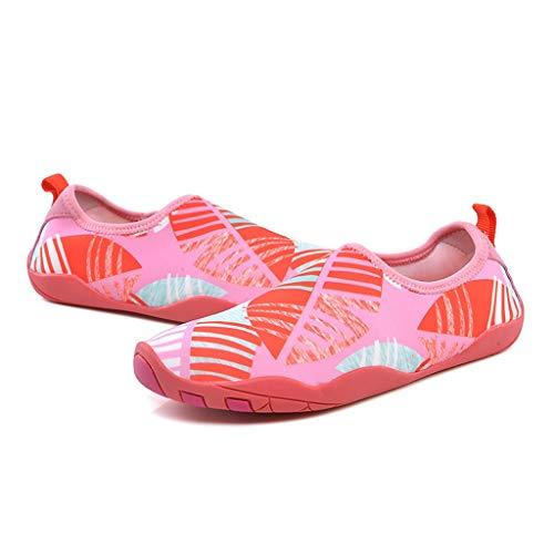 Diaod NUEVOS Zapatillas de Deporte Natación Deportes acuáticos Aqua Seaside Beach Surfing Slippers Upstream Light Atlético Calzado para Hombres Mujeres (Size : 42)