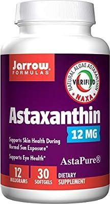 Jarrow Formulas Astaxanthin, 12mg, 30 softgels