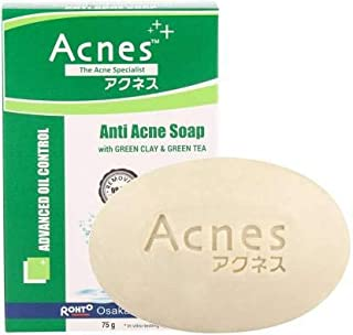 Acnes Oil Control Anti Acne Soap, 75g (Pack of 2)