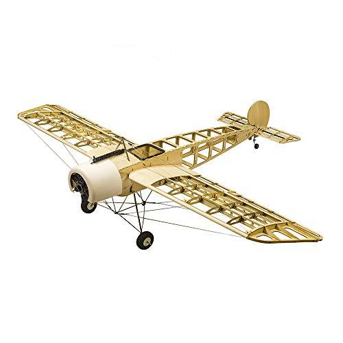 Goolsky- S2401 Balsa Wood RC Avión 1520mm Eléctrico o de Gasolina Fokker-E RC Avión sin Ensamblar Kit Versión DIY Modelo de Vuelo