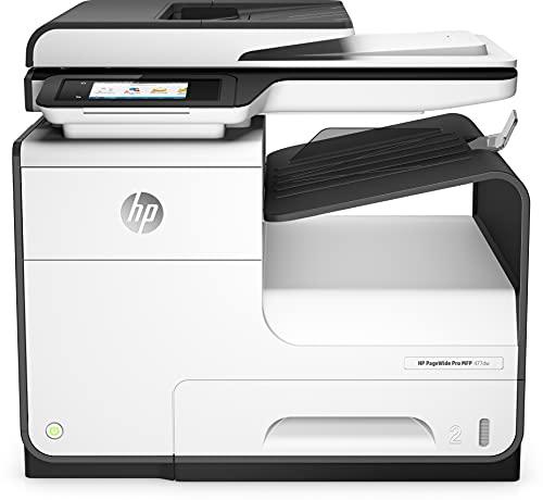 HP PageWide Pro 477dw MFP (D3Q20B) - imprimante multifonction couleur : impression, A4, scan, copie, fax (couleur ; recto-verso ; jusqu'à 40 ppm ; USB 2.0 ; Gigabit Ethernet ; Wi-Fi)