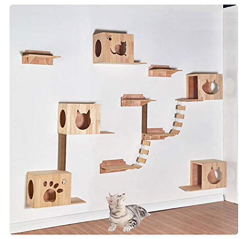 Wellucky Wall-Mounted Cat Tree Shelves Review
