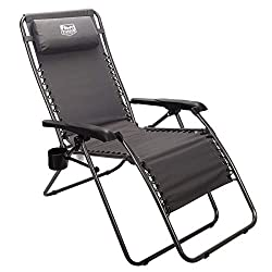 Timber Ridge Zero Gravity Locking Lounge Chair review