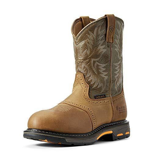 ARIAT Men's H20 Workhog Work Boot Composite Toe Aged Bark 11.5 B (M) US