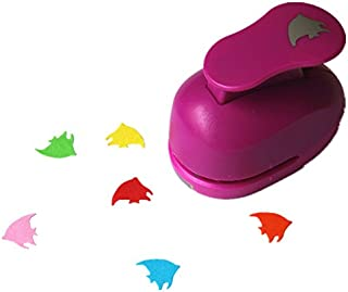 CADY Crafts Punch 5/8-Inch Paper Punches,Paper Punch Flower Fish