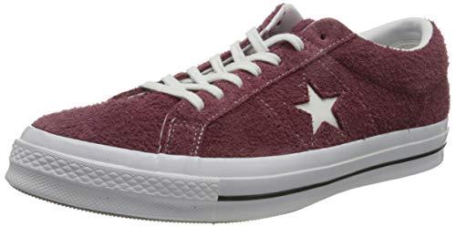 Converse Unisex-Erwachsene Lifestyle One Star Ox Sneakers, Rot (Deep Bordeaux/White/White 625), 38 EU