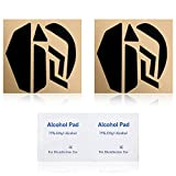 2 Sets of Replacement Mouse Feet Stickers Mouse Skatez Compatible with Logitech G502 Wired Version, 0.7mm, Contains 2 Cleaning Pads